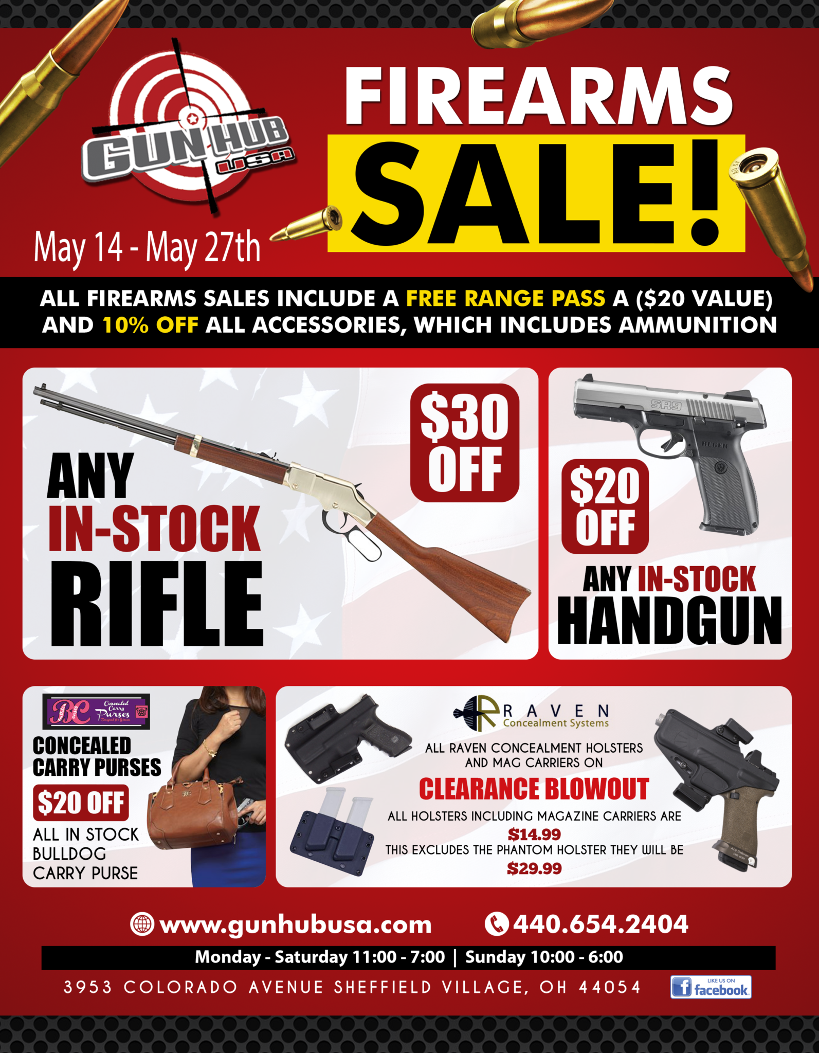 retail and online firearm and accessory store